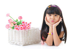 Asian kid Royalty Free Stock Photography