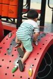 Asian Kid at Playground Stock Photo