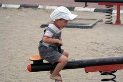 Asian Kid at Playground Royalty Free Stock Photo