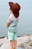 Asian Kid Portrait Stock Image