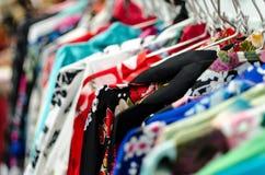 Asian kimono selection Stock Photos