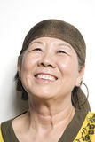 Asian Lady. Portrait of a happy smiling asian woman royalty free stock photos