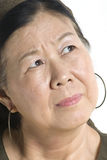 Asian Lady. Portrait of an asian woman royalty free stock image