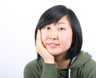 Asian lady Royalty Free Stock Photo