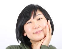 Asian lady Stock Photography