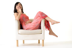 Asian lady Royalty Free Stock Photography