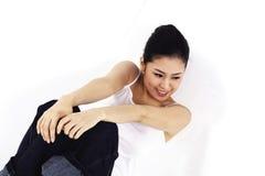 Asian Lady Royalty Free Stock Photos