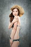 Asian lady in bikini Stock Image