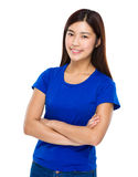 Asian lady portrait Stock Photography
