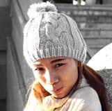 Asian lady portrait Stock Photos