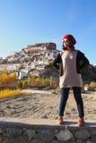 Asian lady traveler Stock Photography