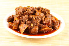 Asian Lamb curry Royalty Free Stock Images