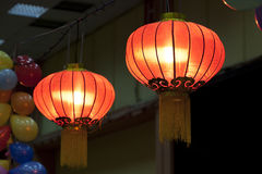 Asian lamps Stock Photography
