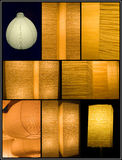 Asian lamps Stock Images