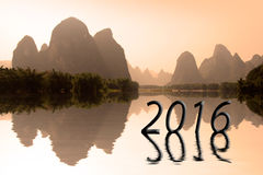 2016 asian landscape Royalty Free Stock Photos