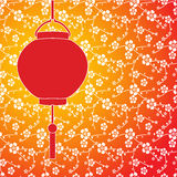 Asian lantern background Stock Photography