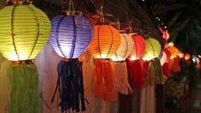 Asian lanterns on fence. Asian lanterns on fence ,Chiangmai Thailand