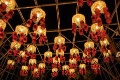 Asian Lanterns Festival Royalty Free Stock Photos