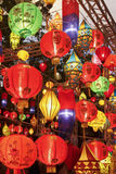 Asian lanterns in festival. Asian lanterns in international lantern festival Royalty Free Stock Photography