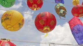Asian lanterns in festival