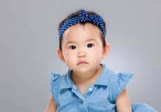 Asian little baby girl Royalty Free Stock Images