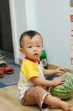 Asian little boy Stock Images