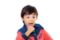 Asian little boy Stock Photography