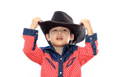 Asian little boy Stock Images
