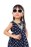 Asian Little Chinese Fashion Girl Posing Stock Photography