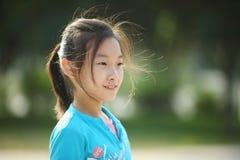 Asian little girl Royalty Free Stock Photo