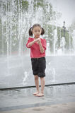 Asian little girl Stock Photos