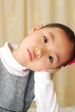 Asian little  girl Stock Images