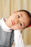 Asian little girl stock images