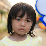 Asian little girl Royalty Free Stock Image