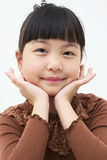Asian Girl's portrait Royalty Free Stock Photos