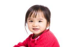 Asian little girl smile Stock Images
