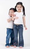 Asian little girls Royalty Free Stock Photography