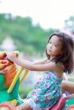 Asian little girls Stock Photo