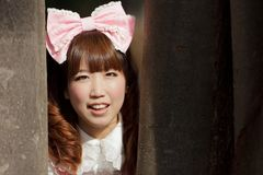 Asian lolita portrait Stock Photography