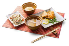 Asian lunch 6 stock photography