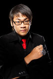 Asian magician with pendulum Royalty Free Stock Image