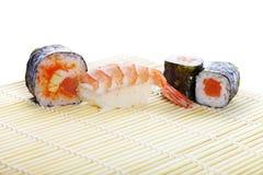 Asian maki sushi Stock Images