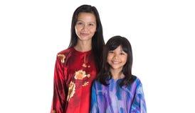 Asian Malay Mother And Daughter VII Stock Photos