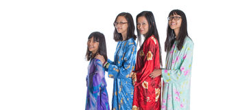 Asian Malay Mother With Daughters III Royalty Free Stock Photography
