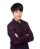 Asian male in casual Stock Photos