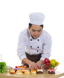 Asian male chef Stock Image