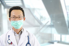 Asian male doctor Royalty Free Stock Image