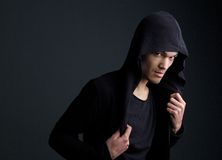 Asian male fashion mode Royalty Free Stock Photography