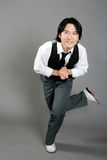 Asian Male Jazz Dancer Royalty Free Stock Image
