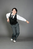 Asian Male Jazz Dancer Royalty Free Stock Photos